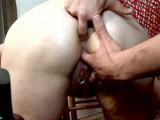 Vidéo porno mobile : Two cocks in this fat mature holes